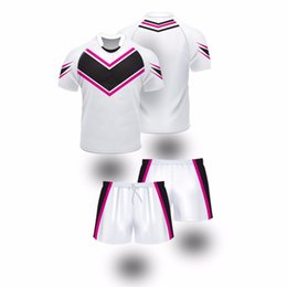 Wholesale- Newest Loose Fit Women Sublimated Rugby Jerseys customized  Sublimated Rugby Jerseys a68477d42