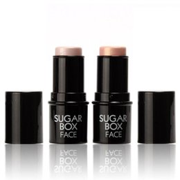 sugar box makeup highlighter Australia - Brand Sugar box Face Makeup Highlighter Stick Shimmer Highlighting Powder Creamy Texture Silver Golden Shimmer Light Sugarbox DHL