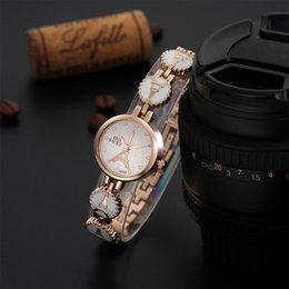 Eiffel Tower Bracelet Watch Canada - Fine New Style women Wrist Watch Explosion models, Ms. bracelet watch high-end fashion Eiffel Tower watch female watches 2piece lot