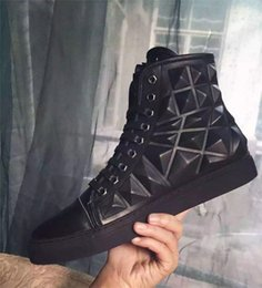flat shoes korean styles 2018 - Fashion Famous Brand Fashion Style Korean Version Shoes Men Casual Shoes High Quality Top Brand Designer Flats 3D Men Sh