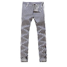 China Wholesale-2016 NEW Men striped cotton&linen Nightclubs pants,Famous Brand Fashion casual pants Men,plus-size 28-38 cheap nightclub lighting suppliers