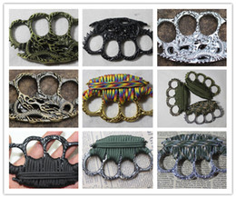 $enCountryForm.capitalKeyWord UK - OUTDOOR DRAGON safety equipment finger tiger GILDED THICK STEEL BRASS KNUCKLE DUSTER Protective Gear self-defense equipment