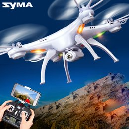 $enCountryForm.capitalKeyWord Australia - Drones SYMA X5SW RC Drone FPV Helicopter Quadcopter with HD Camera 2.4G 6-Axis Real Time RC Helicopter Toy Original