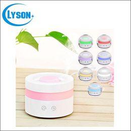 $enCountryForm.capitalKeyWord Canada - Rainbow Cool Mist Ultrasonic 7 Colors Change LED Diffuser USB Aroma Diffuser Fragrance Sprayer Office Essential Oil Diffuser