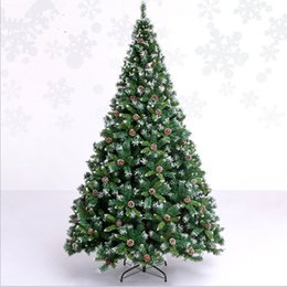 snowing tree christmas decoration canada 30 m 300cm soiled white pine cones automatic snow christmas - Snowing Christmas Decoration