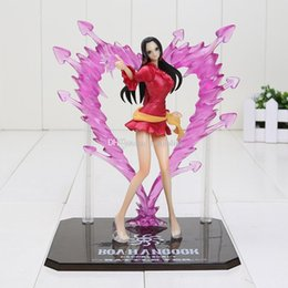 One Piece Figure Hancock Canada - Anime One Piece figure Boa Hancock Empress PVC Action Figure Hancock Fighting Style Figure Model Toy 15CM Free Shipping
