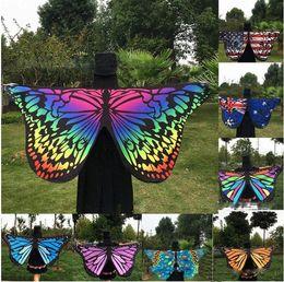 Yoga mat brands online shopping - Tapestry Hippy Boho Tablecloth Mandala Beach Towel Indian Bikini Wrap Butterfly Design Beach Shawl Cover Up Yoga Picnic Mat butterfly cloak