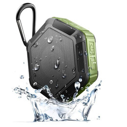 mini xlr 2019 - Waterproof Wireless Stereo Portable Outdoor Bluetooth Speaker Handsfree Super Mini Wireless Shower OutdoorSport Climbing