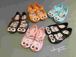 Baby Girl Cute Sandals Australia - Mini Melissa Jelly Sandals For Baby Girls Children Sandalen Summer Cute Cartoon Beach Shoes 2016 Infantil Sandalia 5 Colors