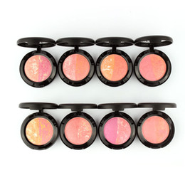 Wholesale Makeup Products Natural Face Pressed Blush Baked Makeup Blush Palette Cream Blush Blusher Brand Sugar Box