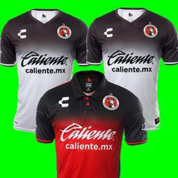 89bfc5b0b Camisa 17 18 LIGA MX Xolos de Club Tijuana Soccer Jerseys 2018 Best  Thailand quality Mexico Club Xolos de Tijuana Red White rugby shirts