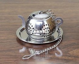 $enCountryForm.capitalKeyWord Canada - Fashion Hot MINI Cute Stainless Steel Tea Infuser Pendant Design Home Office Tea Strainer Gift Teapot Type Creative Tea Accessories