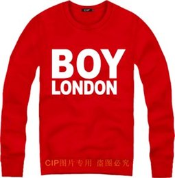 Barato Bigbang Boy Londres-Frete grátis hip hop roupa bigbang londres boy letter print boy londres sweatshirt for spring / autumn / winter boy london Sweatshirts 9 color