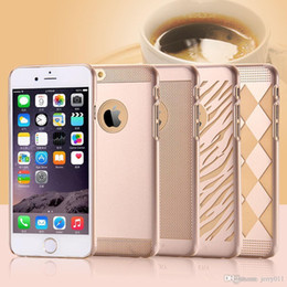 Plastic Carrying Hard Case NZ - 6s Luxury Golden Case Original Slim Back Cover For Iphone 6 6s 6s Plus Hard PC Ultra Thin Carrying Case For Iphone 6+