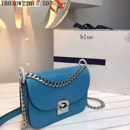 Cheap Cross body online shopping - Latest Good and cheap Leather Cross Body Women Fashion Crocodile leather shoulder bags Tough small bags with buckle