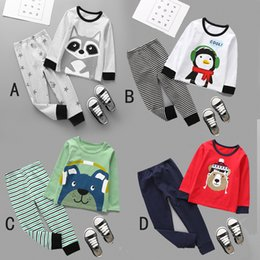 bc3efae5d6a2 spring baby girls boys pajamas autumn kids sleeping clothes sets toddler  boy sleepwear children girl sleep suits winter new sets
