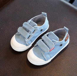 $enCountryForm.capitalKeyWord Canada - 2017 New Arrival Kids Sneakers Boys Shoes Breathable Denim Children Canvas Shoes 1-9 Years Old (13.5cm-18.7cm)Baby Shoes