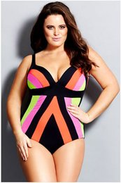 Plus Sized Bikini Tops Canada - One-piece Plus Size Ladies Swimwear Hollow Bathing Suits Dress Tops Plus Size Bathing Suit Triangle Bottoms Bikini Sexy Strap Bikinis