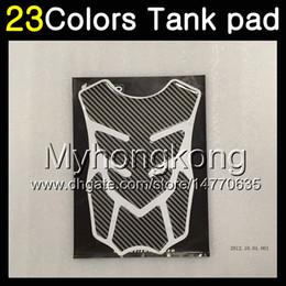 Honda Cbr Cap Australia - 23Colors 3D Carbon Fiber Gas Tank Pad Protector For HONDA CBR400RR NC29 CBR400 RR CBR 400 RR 90 91 92 93 94 1990 91 1994 3D Tank Cap Sticker
