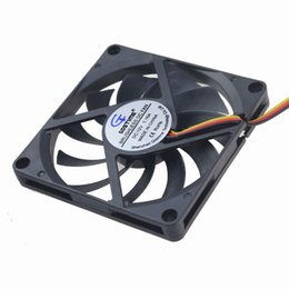 $enCountryForm.capitalKeyWord Canada - Wholesale- 1 Piece Gdstime 80x80x10mm 80mm 12V 3Pin Axial Computer DC Cooling Cooler Fan