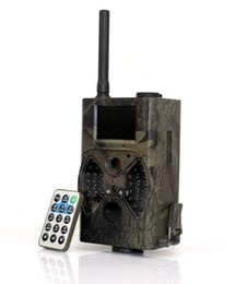 Gprs Email Canada - Free shipping 12MP EMAIL MMS SMS Hunting Trail Camera Outdoor Infrared GPRS Hunting Camera HC-300M 1pcs