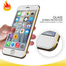 Iphone 5s Anti Glare Canada - For Iphone SE 6s 6s plus Samsung Galaxy S7 S6 Explosion proof Anti-fingerprint Tempered glass Screen Protetor for Iphone 5s Note5