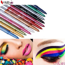$enCountryForm.capitalKeyWord Canada - 12 Colors set Professional Eye Shadow Lip Liner maquiagem sombra Eyeliner Pen Pencil Makeup
