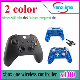 online shopping 100pcs Wireless Game Controller Joystick Gamepad for Xbox One YX one