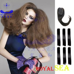 Discount remy human hair weave styles 2018 remy human hair weave new hair style remy human 6pcs lot indian hair yaki straight hair weaves kinky straight brazilian weave remy human hair weave styles outlet pmusecretfo Images