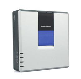 Top Qualité Nouveau Style Linksys PAP2T-NA VOIP SIP ATA Adaptateur Téléphone Pap2T