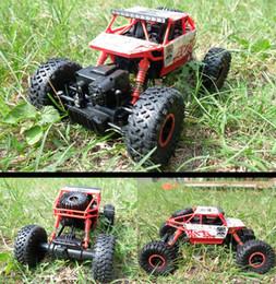 $enCountryForm.capitalKeyWord Canada - Hot sale RC Car 2.4Ghz 1 18 Scale Remote Control toys 4 Wheel Drive Rock Crawler rc Car remote control toys for children