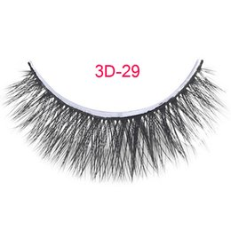 $enCountryForm.capitalKeyWord Canada - 3D-29 Free Shipping 3pcs tray 100% handmade 0.07mm false eyelash 3D strip lashes thick fake faux eyelashes Makeup beauty