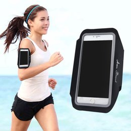 2018 band cases Wholesale- Sports Running Gym Jogging Armband Case Cover Holder Arm Band For Mobile Phone discount band cases