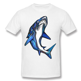 d139c61ab798 Shark. cool street boy summer tees low price pure cotton snug fabric t-shirt  wholesale high quality mens tshirt customized