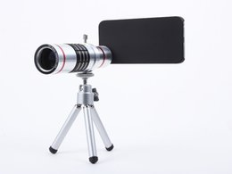 Mobile 18x Zoom Canada - Cellphone mobile phone 18x Camera Zoom optical Telescope telephoto Lens For Samsung note 2 3 4 5 galaxy S4 S5 S6 S7 edge