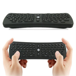 Chinese  2.4GHz Wireless Fly Air Mouse T6 Gyroscope Qwerty Keyboard G-sensor Gyro Remote Control for Android TV Box Mini PC M8 MXQ manufacturers