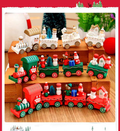 $enCountryForm.capitalKeyWord Canada - Winter Holiday Train Wood Toy Xmas Christmas Train Toy for Ornament Decoration Decor Gift Toys Puzzle Magic Cube Toy