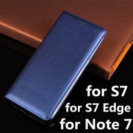 Notes selliNg online shopping - New Luxury Leather Wallet Card Flip Case Cover For Samsung Galaxy S7 Edge S6 edge Note Plus J7 J5 A710 A510 Hot Selling