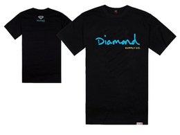 Wholesale diamond supply co for sale – designer Diamond Supply Co T Shirts Men diamond supply tshirt Cotton T Shirt Short Sleeve Man Top Mens Tee Shirt