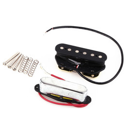$enCountryForm.capitalKeyWord UK - Electric Guitar Strings Tele Bridge Neck Pickups pick up Set Black