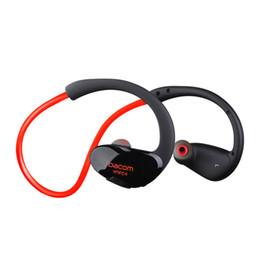 Discount fone ouvido bluetooth usb - new Dacom Athlete Bluetooth headset Wireless outdood sport headsfree headphones ,stereo music earphones fone de ouvido w