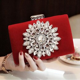 Discount new style side bags - Wholesale-2016 New Single Side Sun Diamond Crystal Evening Bags Clutch Bag Hot Styling Day Clutches Lady Wedding woman b