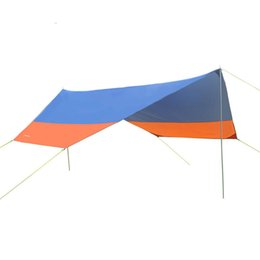 Outdoor Sheds NZ - Wholesale- Outdoors Beach Anti-UV Prevent Rain Sun Shelter Camp Roof Awning Tent Ultralight Canopy Pergola Sun Shelter Sunshade Shed ZYP02