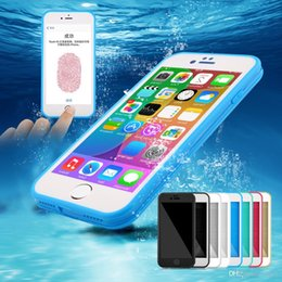 blue clear iphone cases NZ - RobotSky Waterproof Case for iPhone 11 pro xs max xr x 8 6s 7 Plus sansung note 9 8 s8 s9 s10 Crystal tpu soft Clear Shockproof Hybrid
