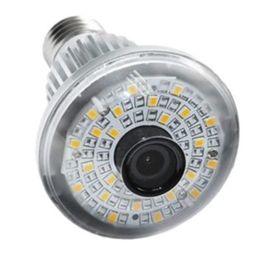 $enCountryForm.capitalKeyWord Canada - EazzyDV BC-785Y HD720P WiFi Bulb P2P IP Network DVR Camera with 5 Watt Warm Light output + Wireless alarm sensors (Optional)