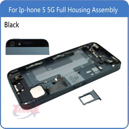 Wholesale Replacement For IPhone G Back Cover Battery Full Housing Assembly with Sim Card Tray Buttons Flex Cables