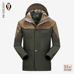 Nylon Coating Australia - Wholesale- 2017 Winter Brand Waterproof Jackets Coat High Quality Nylon Hooded Men's Clothing Warm Fashion Wear Thickening Jackets Coat