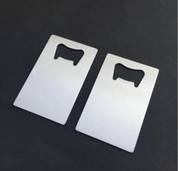 Ingrosso Apribottiglie della carta di credito dell'acciaio inossidabile di formato dell'affrancatura del sacchetto del polisacco di Freeshipping