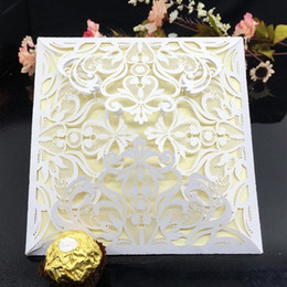 $enCountryForm.capitalKeyWord Canada - Wedding Invitations Laser Cutting Invitation Card For Wedding Gold Paper Hollow Birthday Invitation Hollow Out Wedding Invitations Supplies