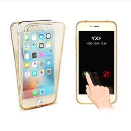 $enCountryForm.capitalKeyWord NZ - 360 TPU full body Shockproof Front Back Clear Transparent case for galaxy S6 S7 S6 edge S7 edge iPhone 6 6plus iPhone 7 7plus